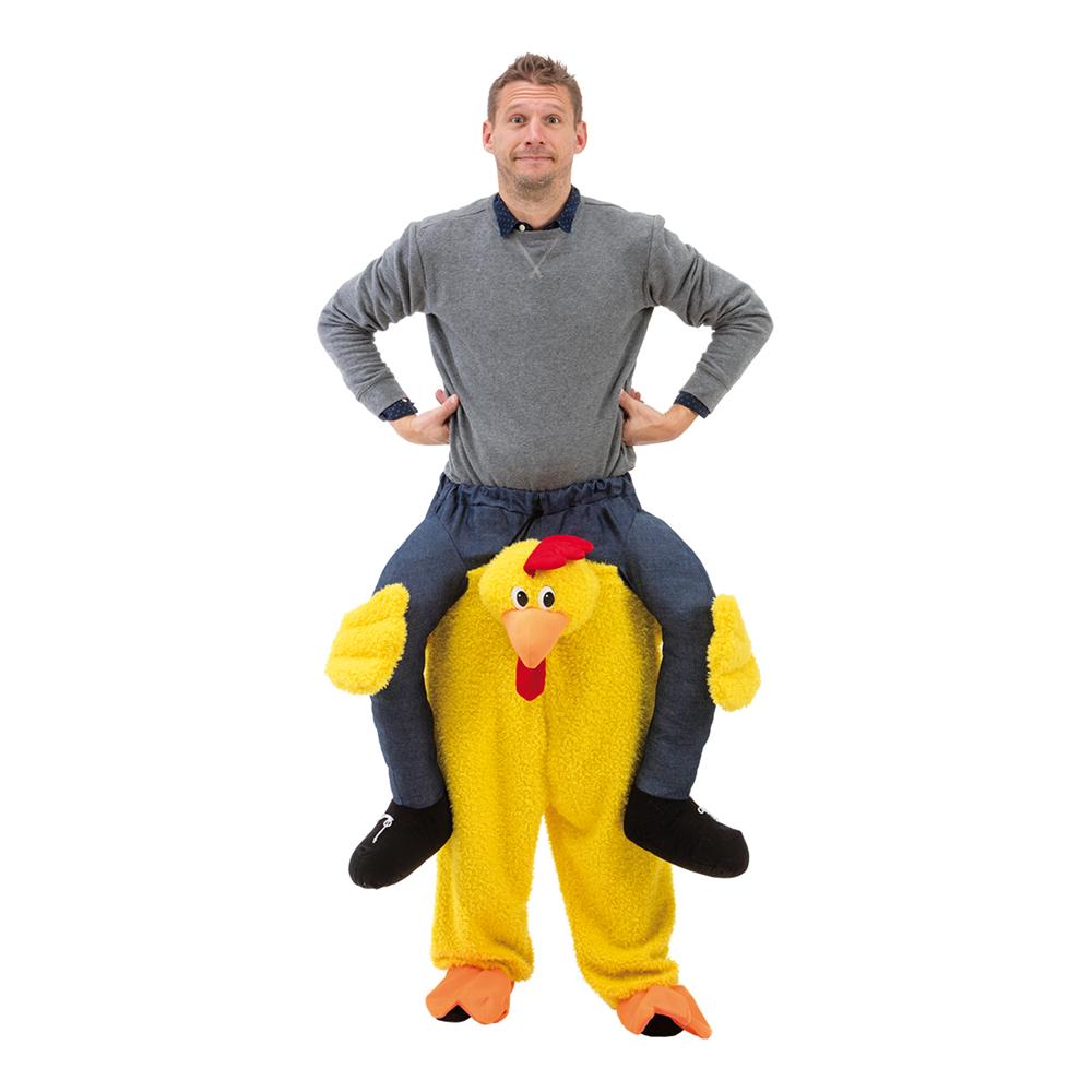 Kyckling-produkter - Ridande Kyckling Maskeraddräkt - One size