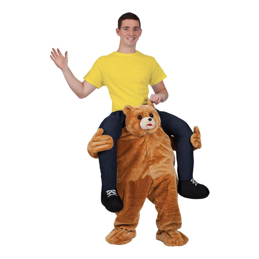 Carry Me Nallebjörn Maskeraddräkt - One size