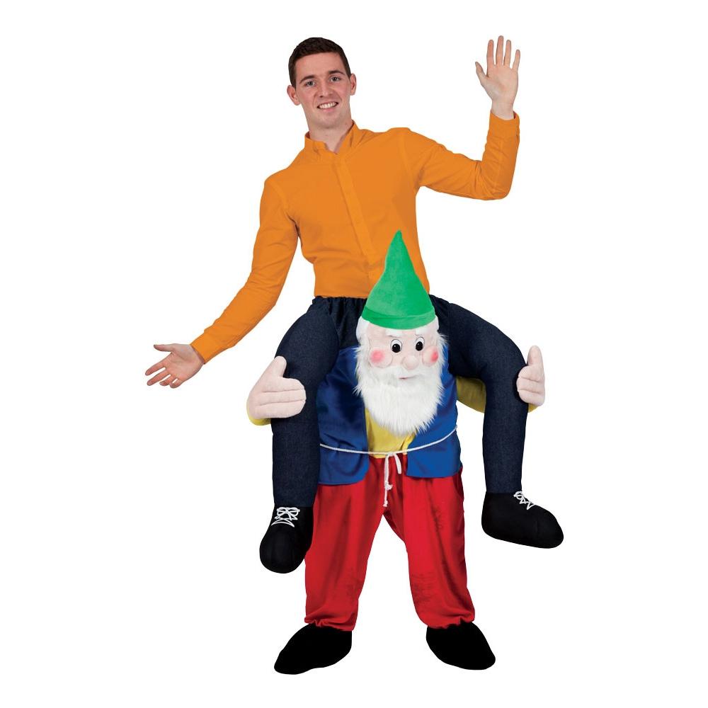 Carry Me Trädgårdstomte Maskeraddräkt - One size