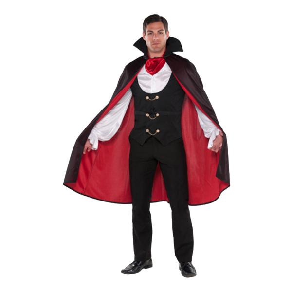 Traditionell Vampyr Maskeraddräkt - Medium