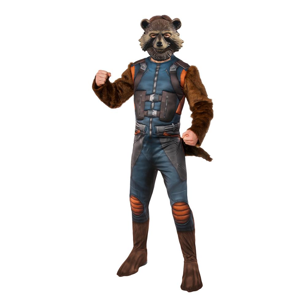Rocket Raccoon Deluxe Maskeraddräkt - Standard