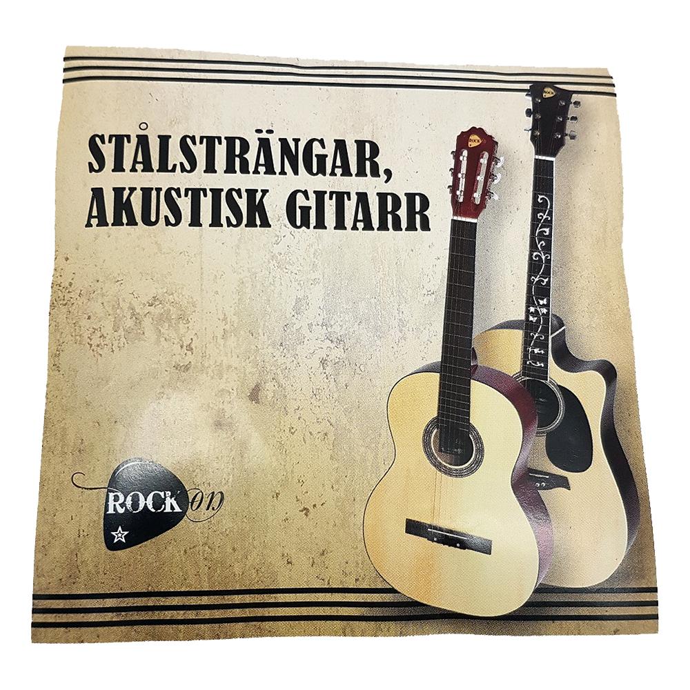 RockOn Gitarrsträngar - Stålsträngar