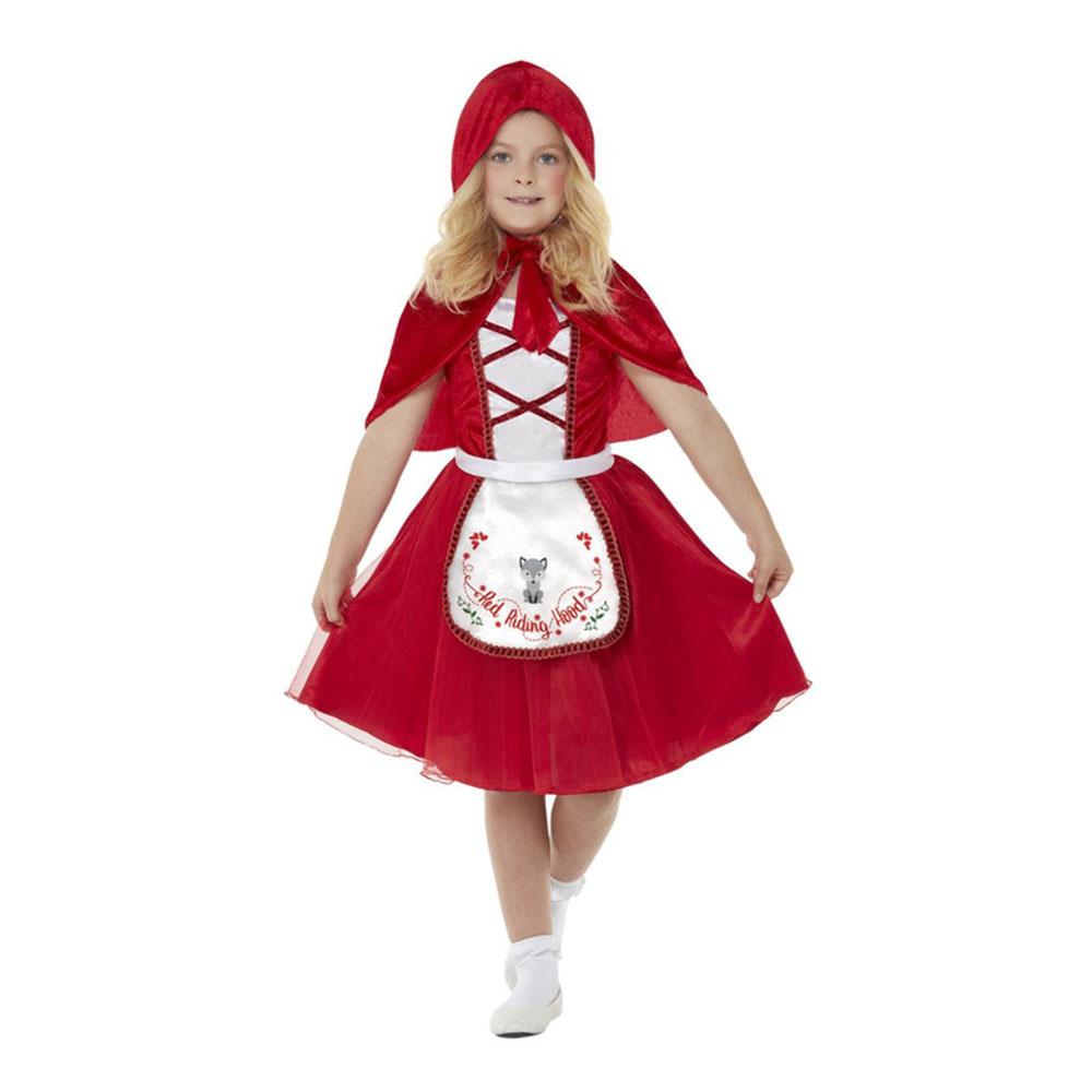 Rödluvan Barn Maskeraddräkt - Small