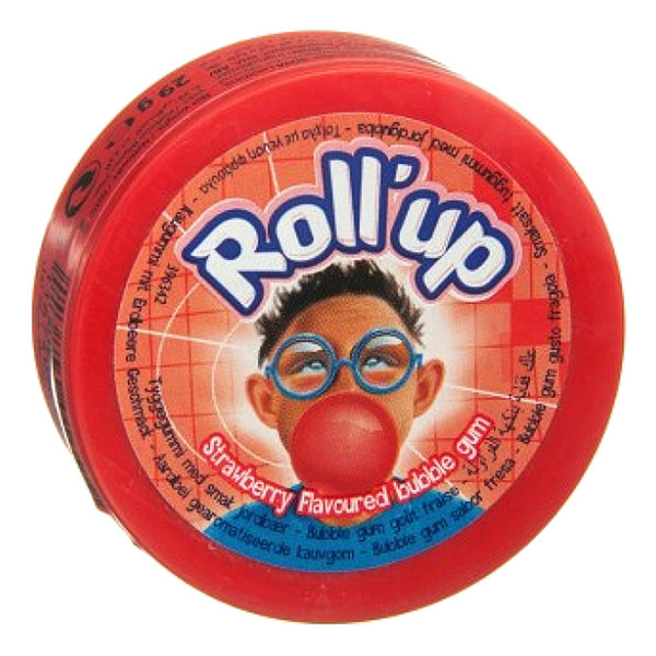 Roll Up Jordgubbe - 1-pack