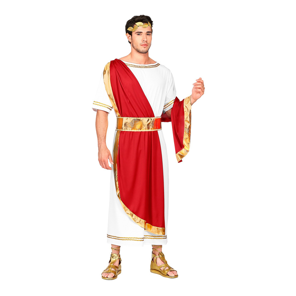 Roman Emperor Maskeraddräkt - X-Large