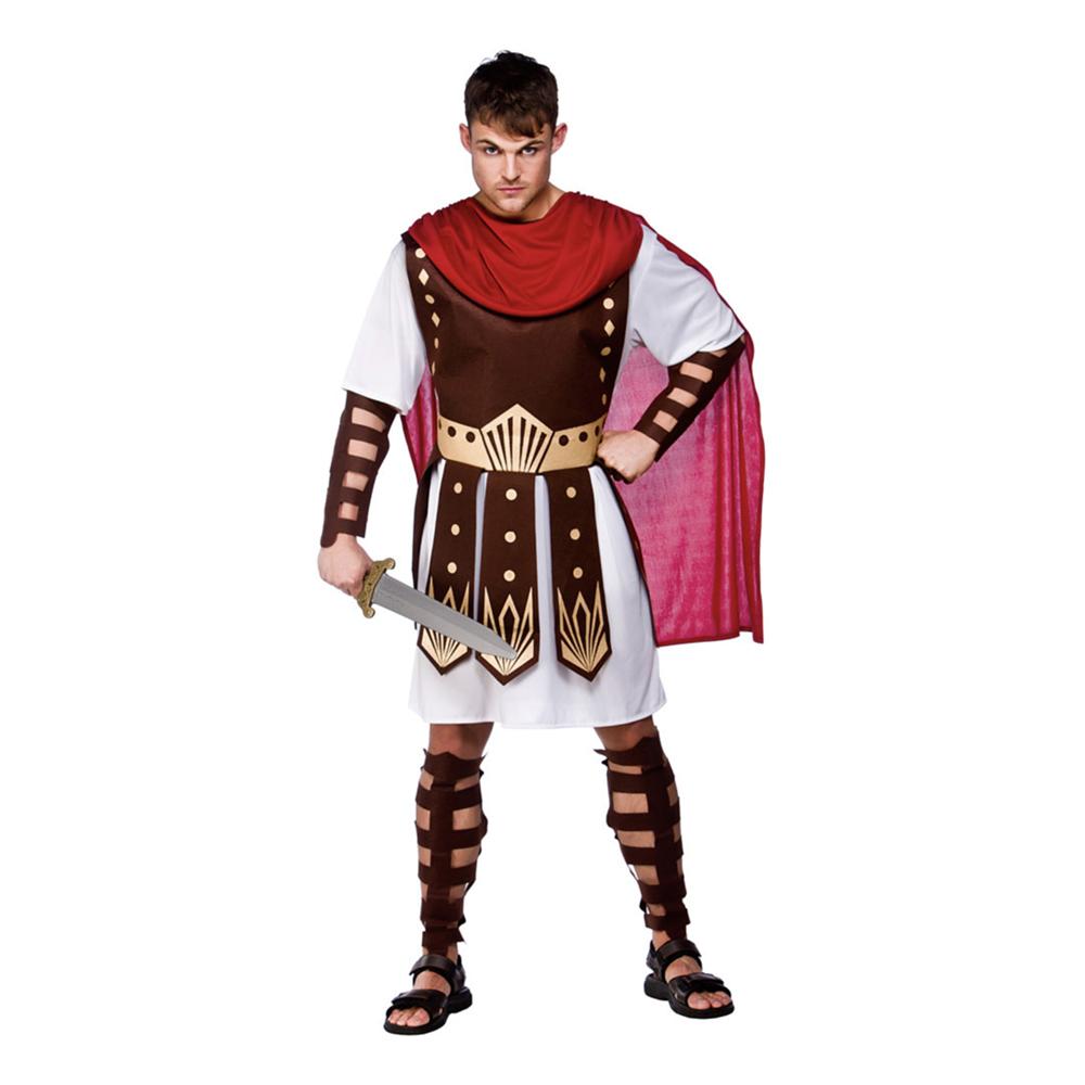 Romersk Kämpe Maskeraddräkt - Medium