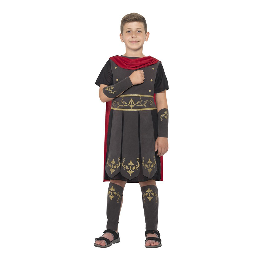 Romersk Soldat Budget Barn Maskeraddräkt - Small