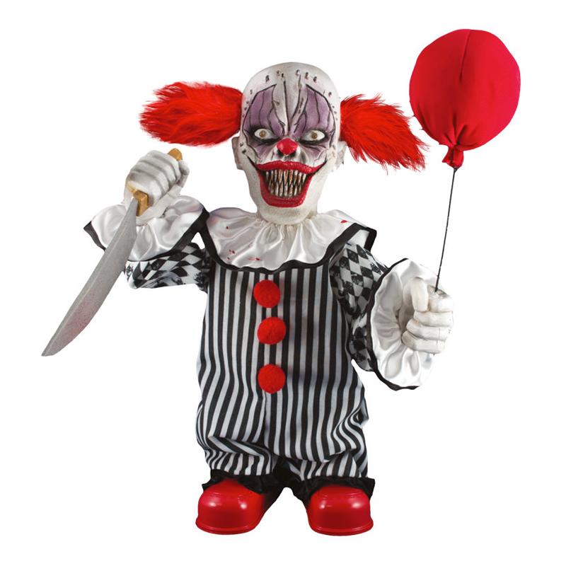 Rörlig Läskig Clown Prop