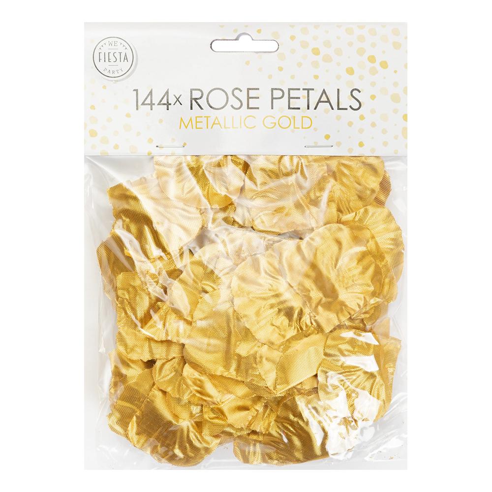 Rosenblad Guld Metallic - 144-pack
