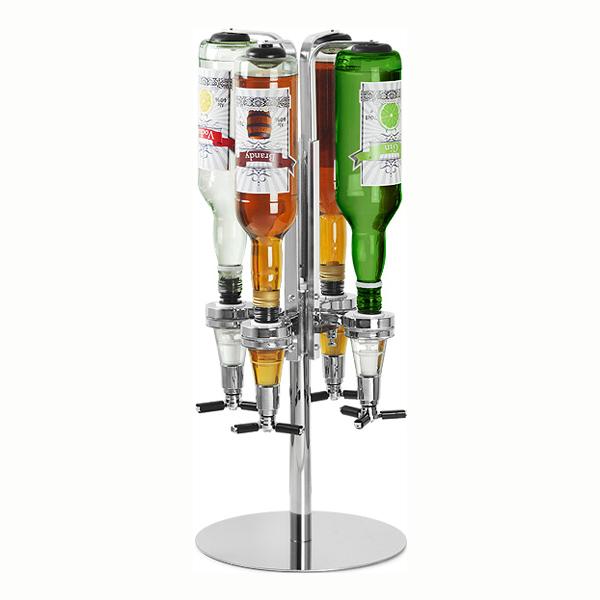 Roterbar Flaskhållare - 4 flaskor