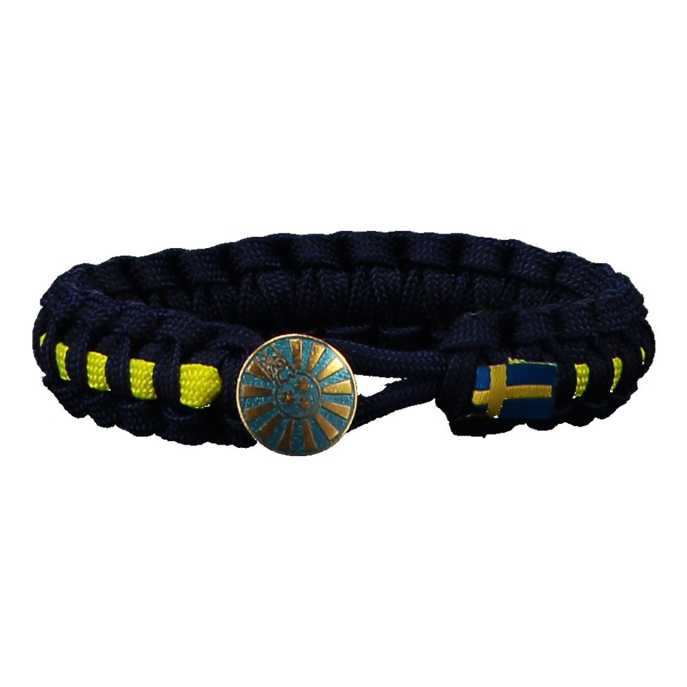 RTS Paracord Armband - Blå 22 cm