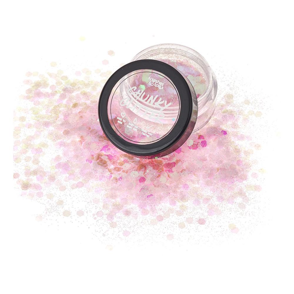 S&S Chunky Glitter - Fairy Pink