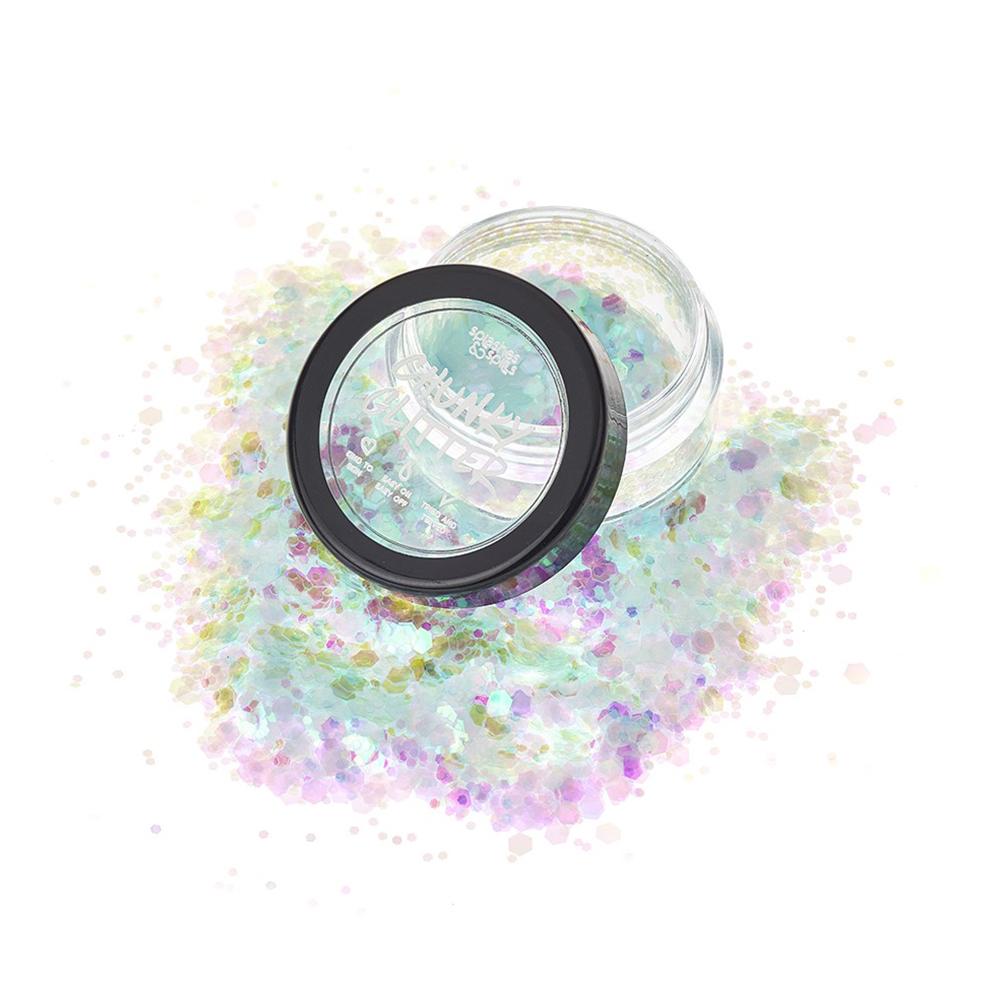 S&S Chunky Glitter - Himmelsblå