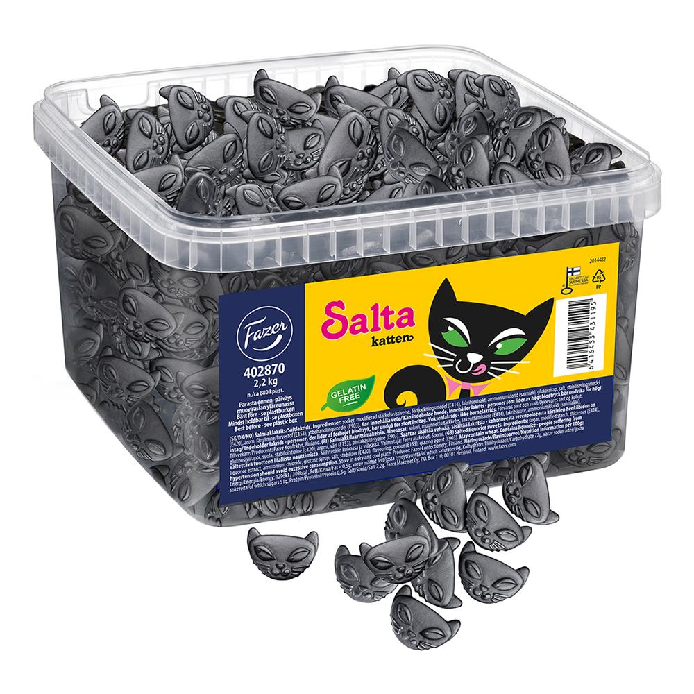 Salta Katten i Burk - 2,2 kg