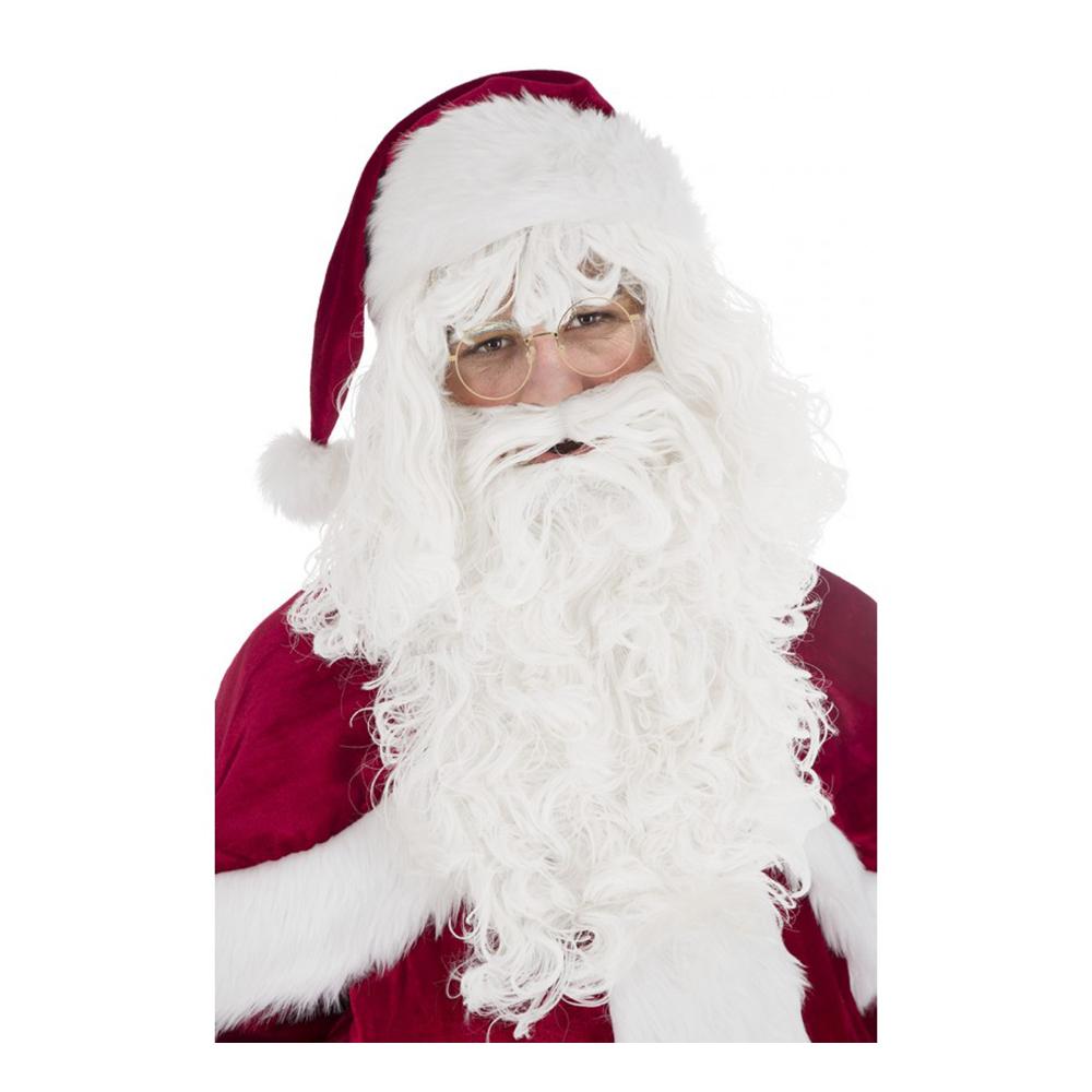 Santa Claus Deluxe Perukset - One size