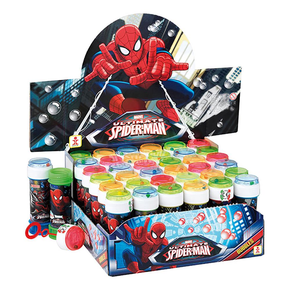 Såpbubblor Spiderman - 36-pack