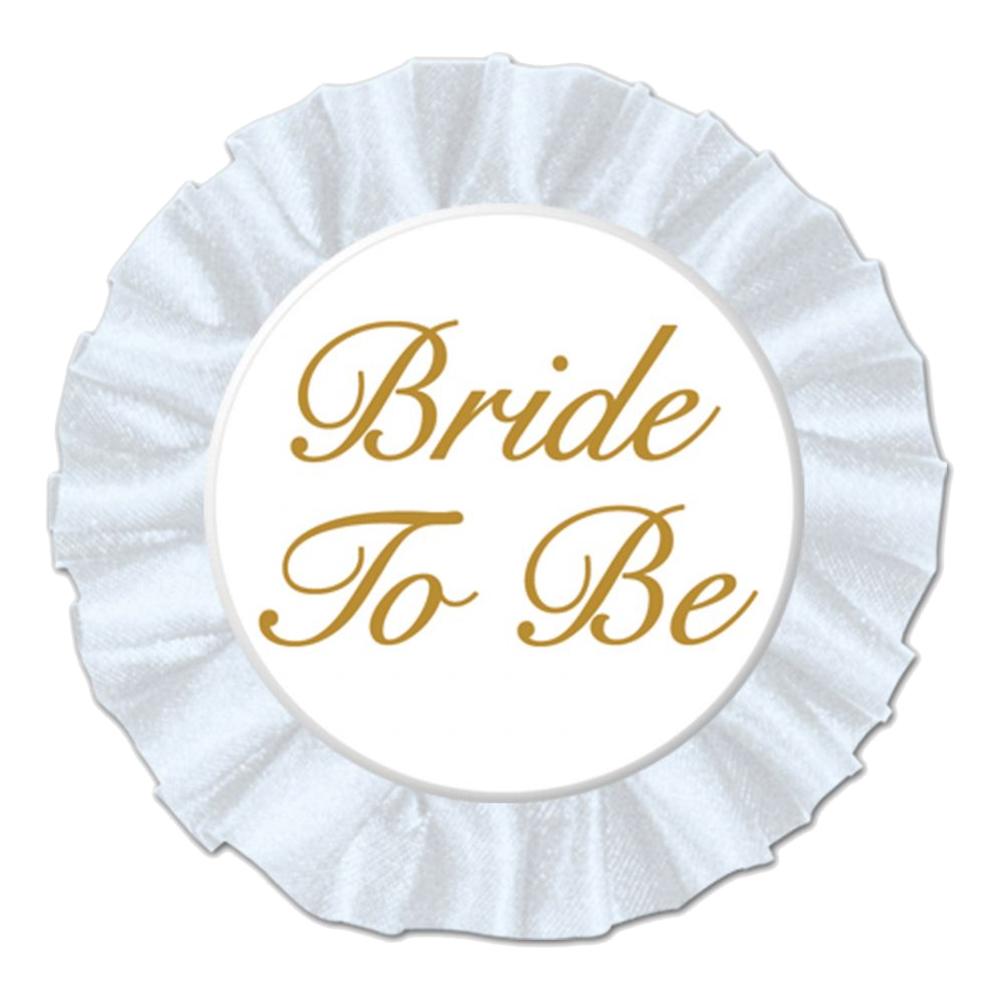 Satinknapp Bride to Be