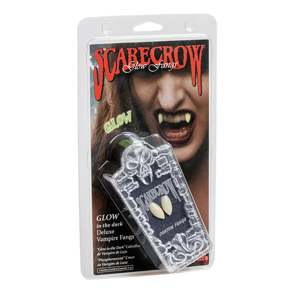 Scarecrow Självlysande Vampyrtänder