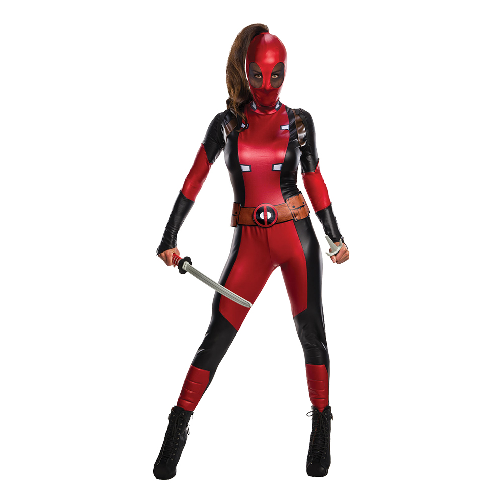 Secret Wishes Deadpool Maskeraddräkt - X-Small