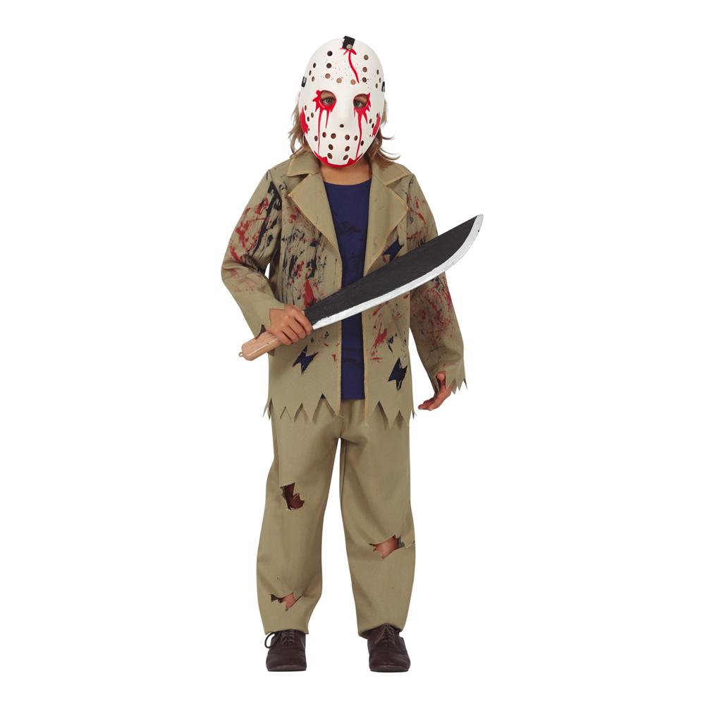 Seriemördare Barn Maskeraddräkt - Small