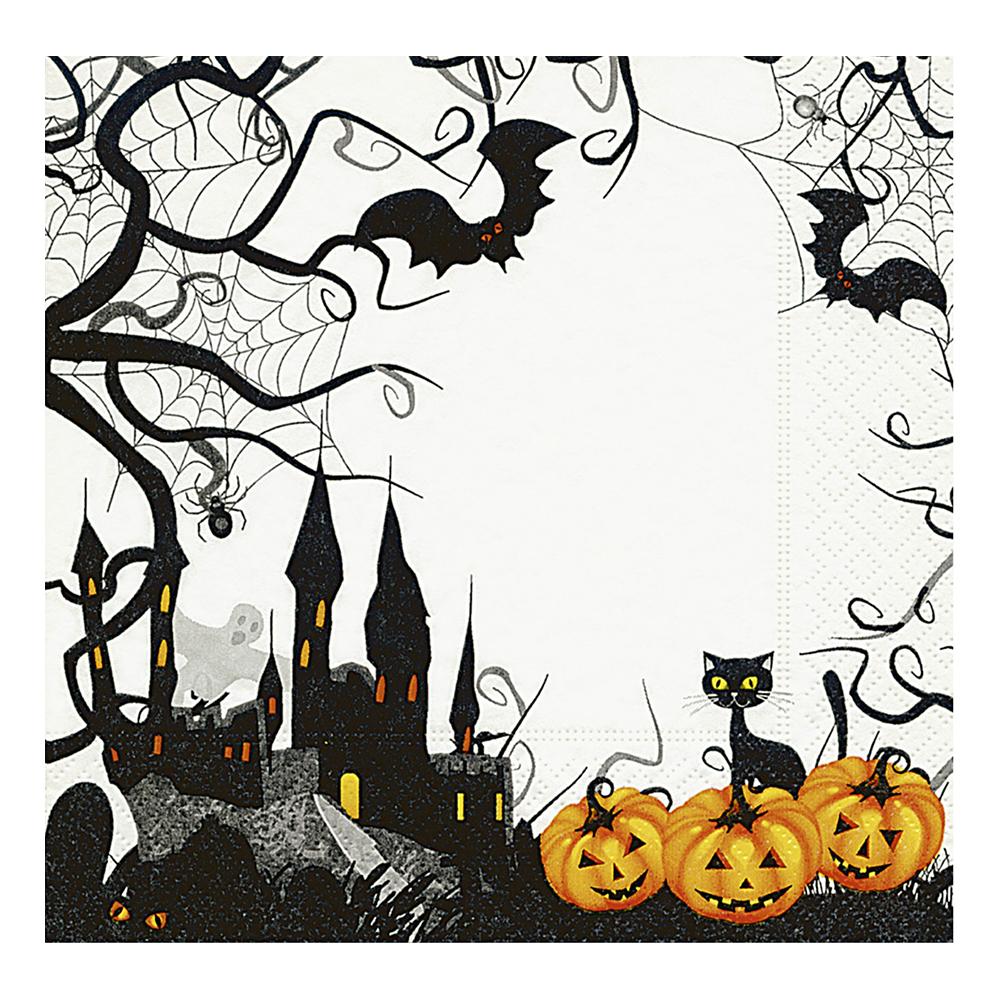 Servetter Halloween Castle - 20-pack