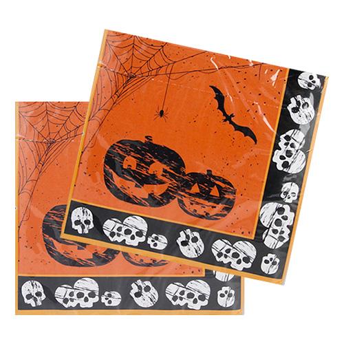 Servetter Happy Halloween - 20-pack