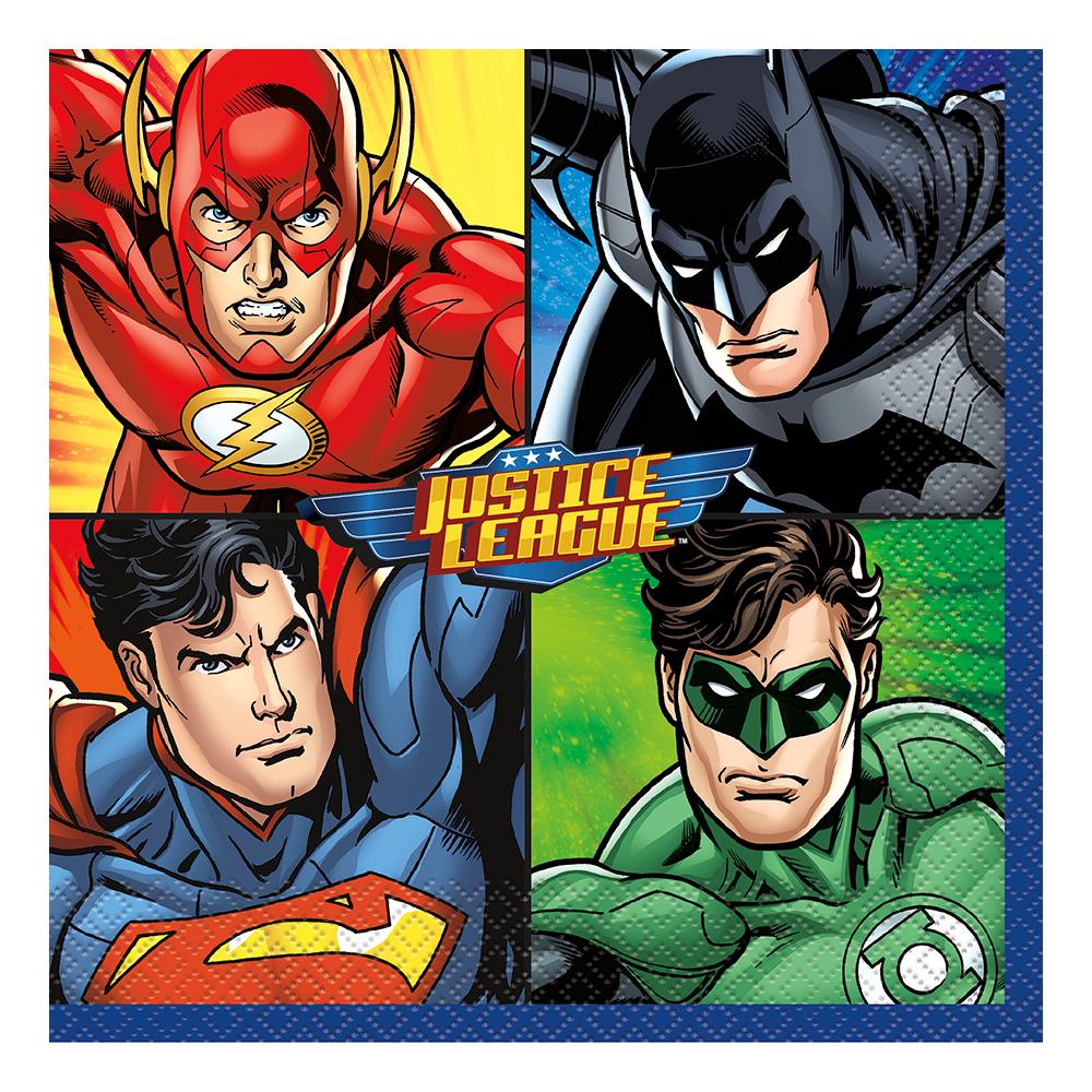 Servetter Justice League - 16-pack
