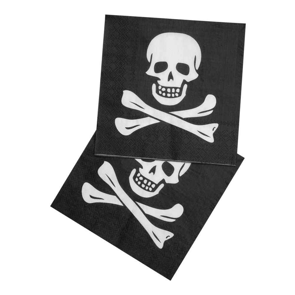 Servetter Pirat - 12-pack