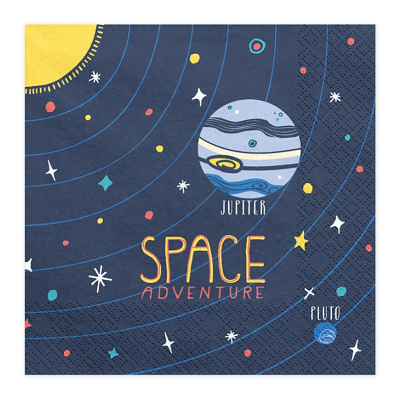 Servetter Space Adventure - 20-pack