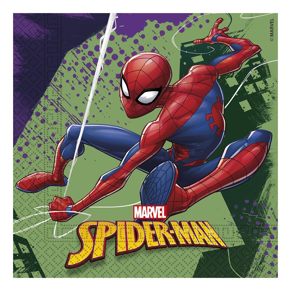 Servetter Spiderman Team - 20-pack