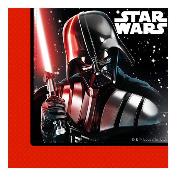 Servetter Star Wars - 20-pack