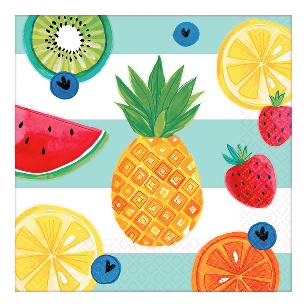 Servetter Tropiska Frukter - 16-pack