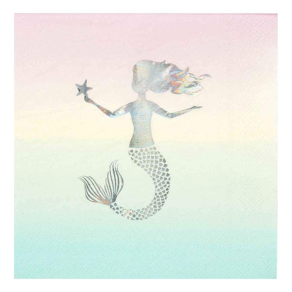 Servetter We Love Mermaids - 16-pack