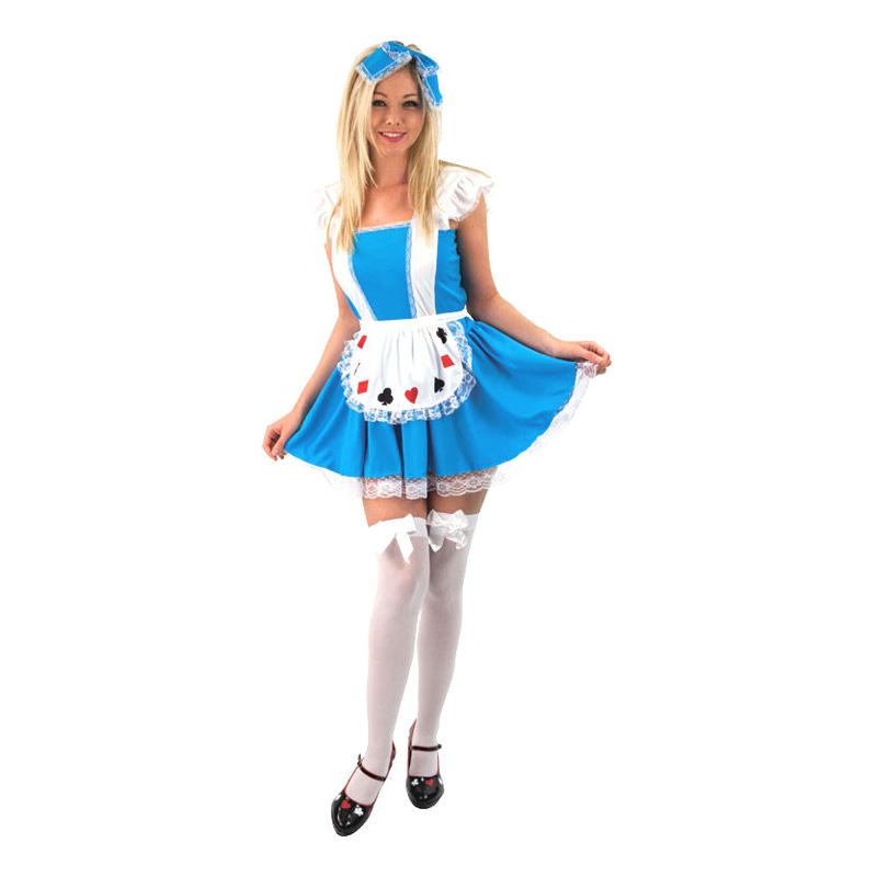 Alice i Underlandet Budget Maskeraddräkt - Small