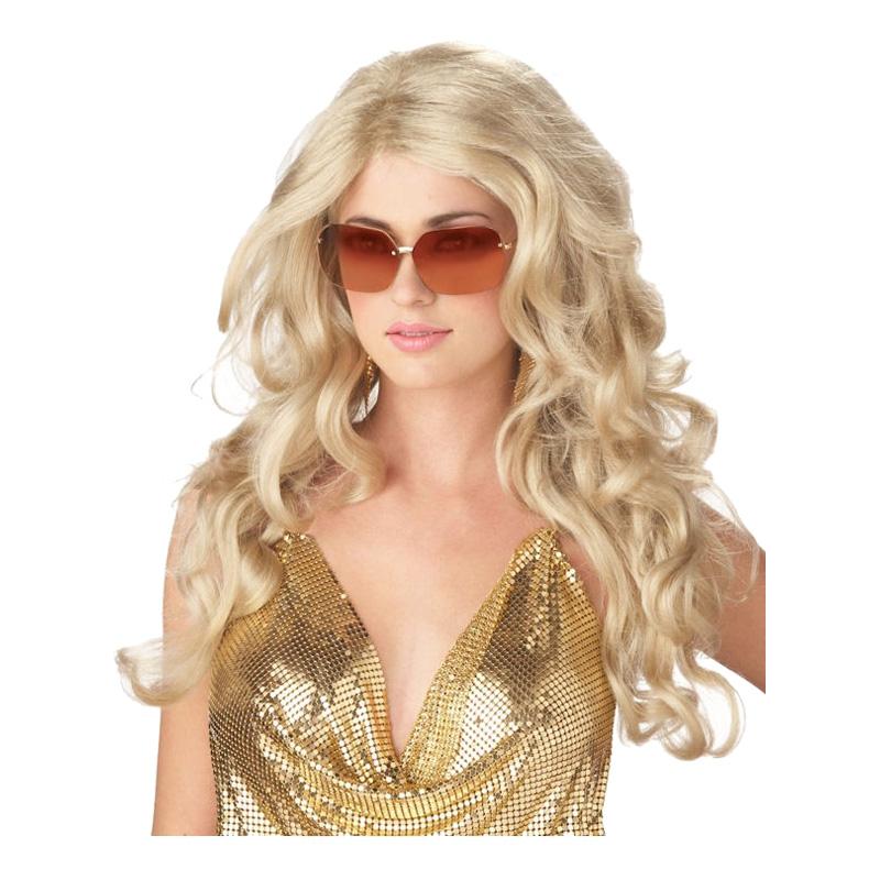 Supermodell Blond Peruk - One size