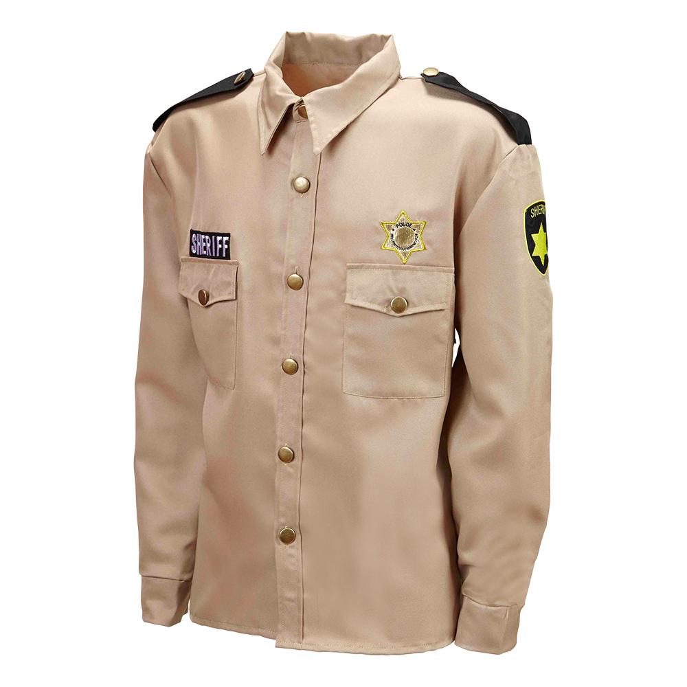 Sheriffskjorta Beige - Medium/Large