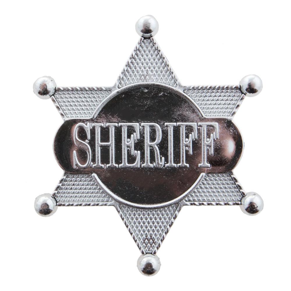 Sheriffstjärna i Plast