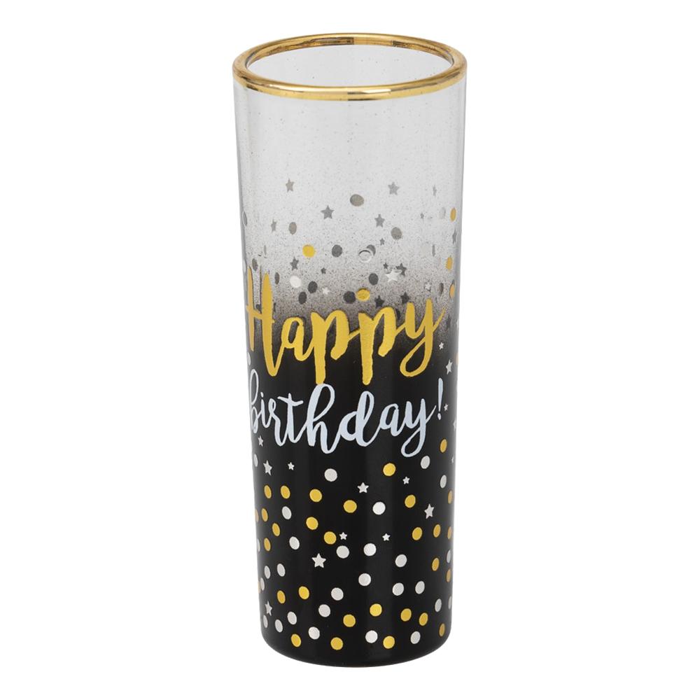 Shotglas Happy Birthday