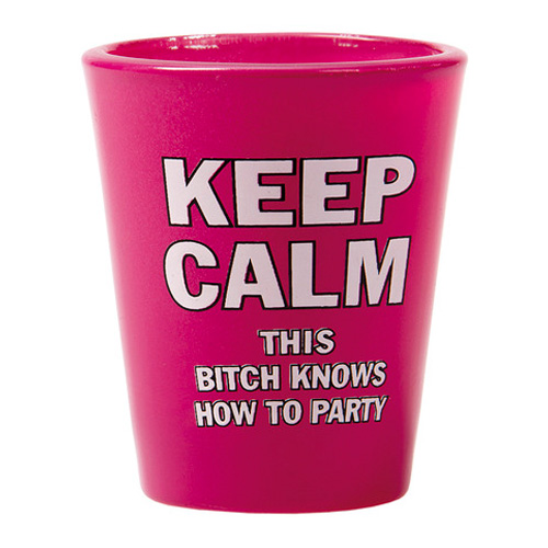 Shotglas Keep Calm