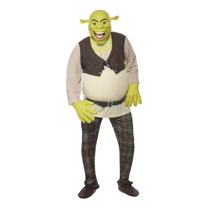 Shrek Maskeraddräkt - Medium