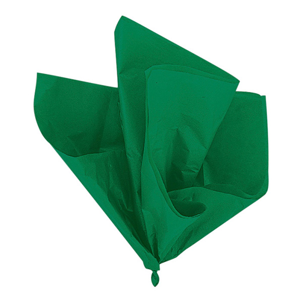 Silkespapper Gröna - 10-pack