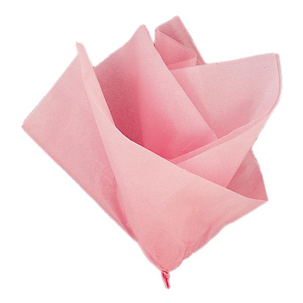 Silkespapper Ljusrosa - 10-pack