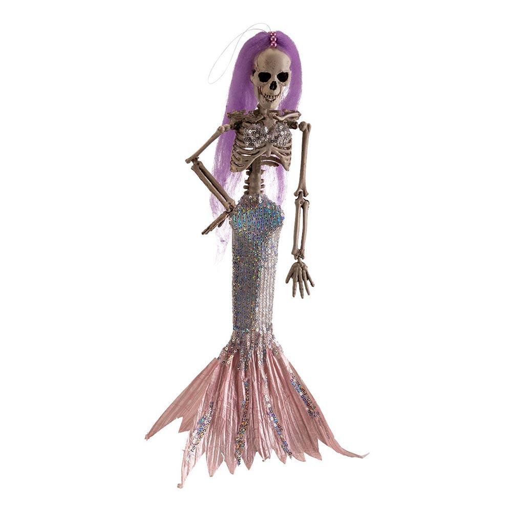 Sjöjungfru Skelett Prop