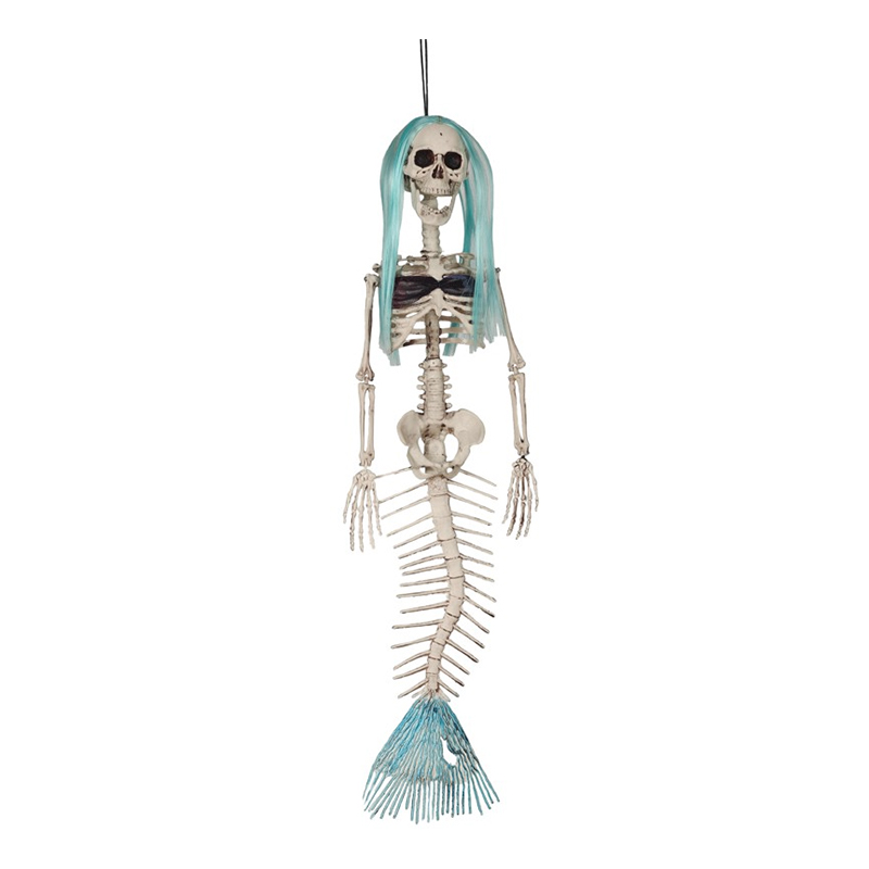 Sjöjungfrudräkter - Sjöjungfru Skelett Stor Hängande Prop - 75 cm