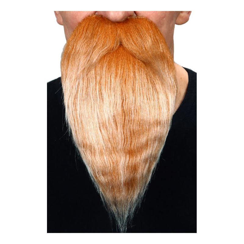 Skägg med Mustach Lång Blond