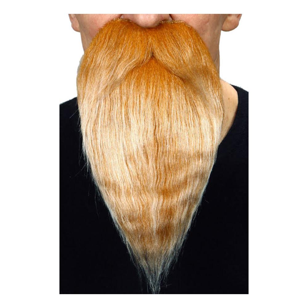 Skägg med Mustasch Lång Blond