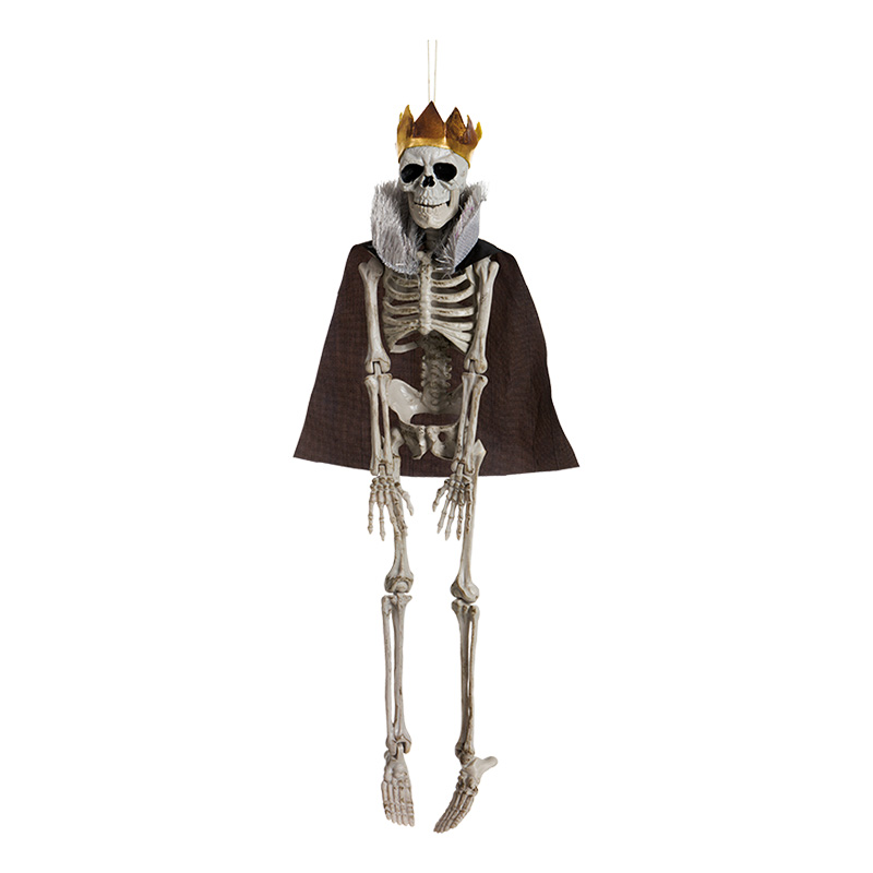 Skelett Kung Prop