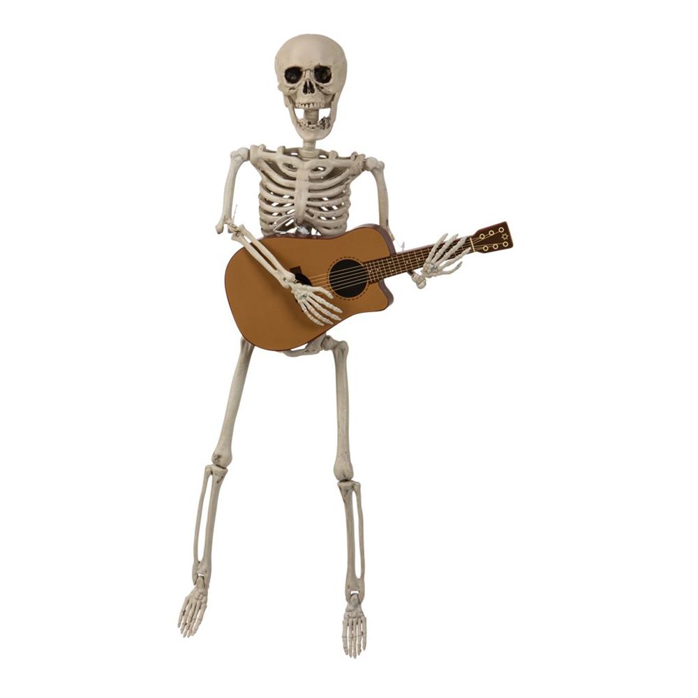Skelett med Gitarr Prop