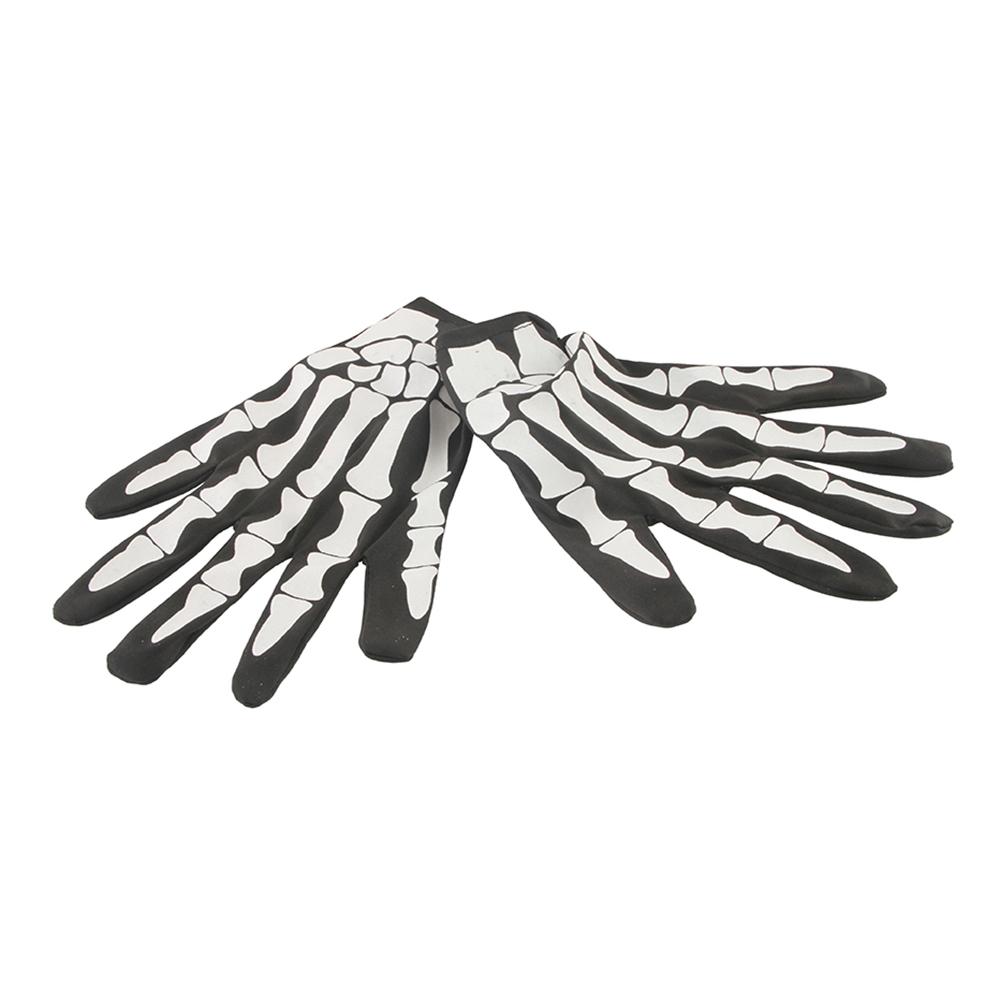 Skeletthandskar Extra Långa - One size