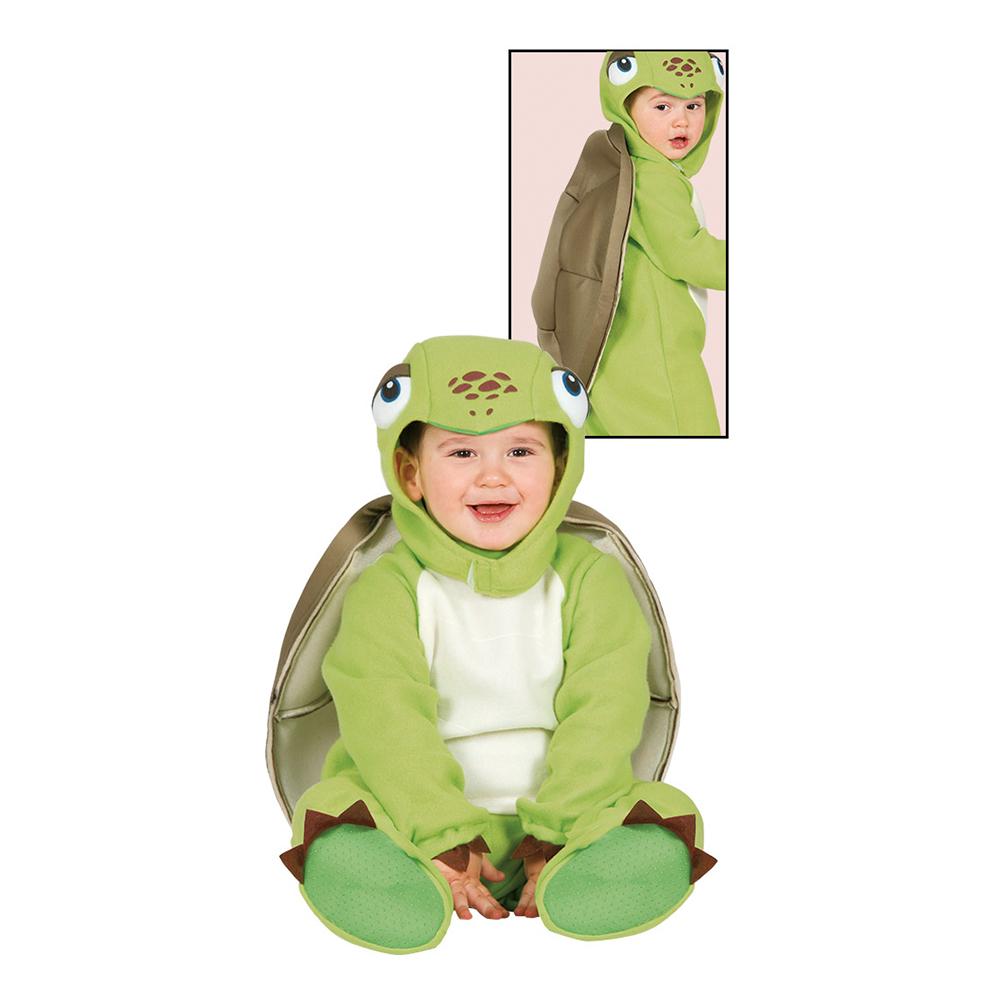 Sköldpadda Bebis Budget Maskeraddräkt - 6-12 mån